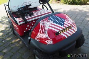 Die glorreichen Jahre des US-Teams auf dem Sitz des Golfcarts</b © cornelia bruckner