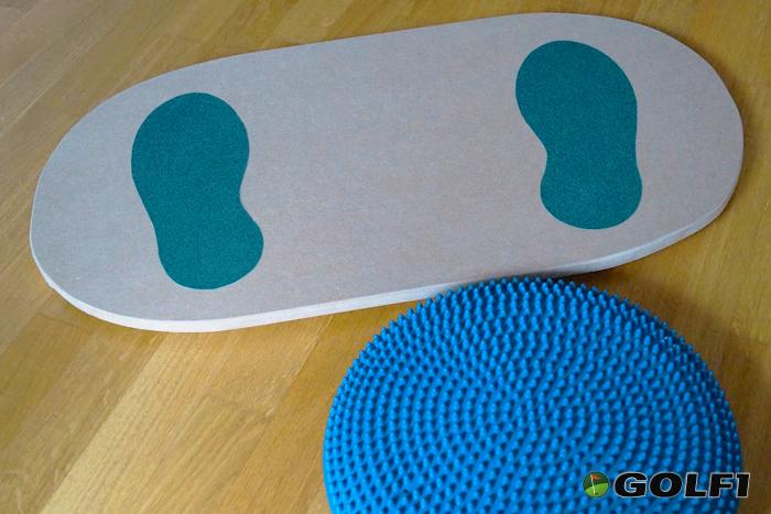 Balance Board mit AirPad © GOLFSTUN.DE