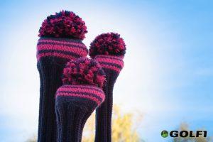 Handgestrickte Golfschläger-Hauben von knitcap © knitcap