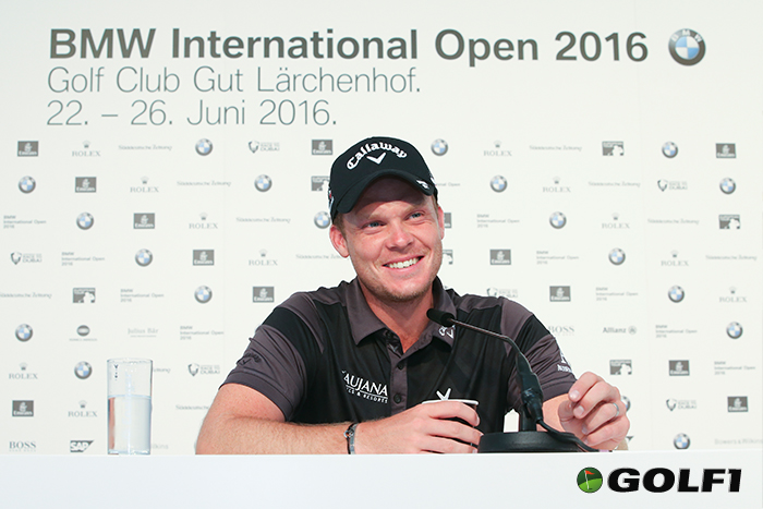 Danny Willet ist amtierender Green-Jacket-Würdenträger © BMW AG
