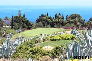 Golfen umgeben von der typischen Flora La Gomeras © tecina golf