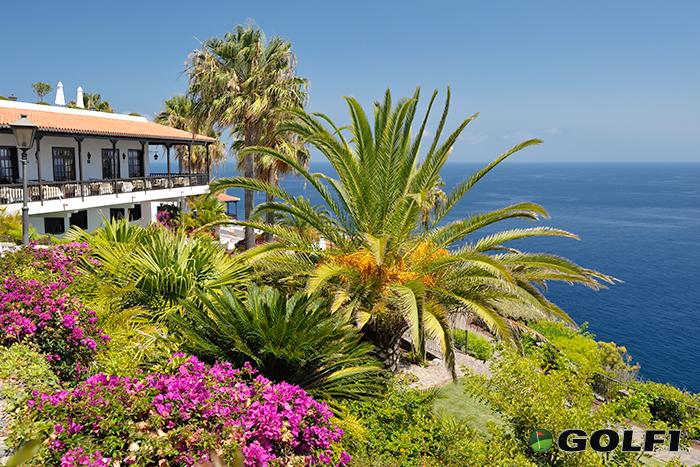 Das Hotel Jardin Tecina liegt unweit vom Golfplatz © tecina golf