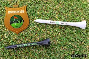 Top-Produkt: Tees aus Bambus von Papa Hummel © jfx / GOLF1