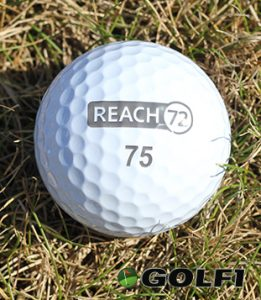 Eine starke Nummer: Der Scratch-Ball von REACH72 © jfx / golf1