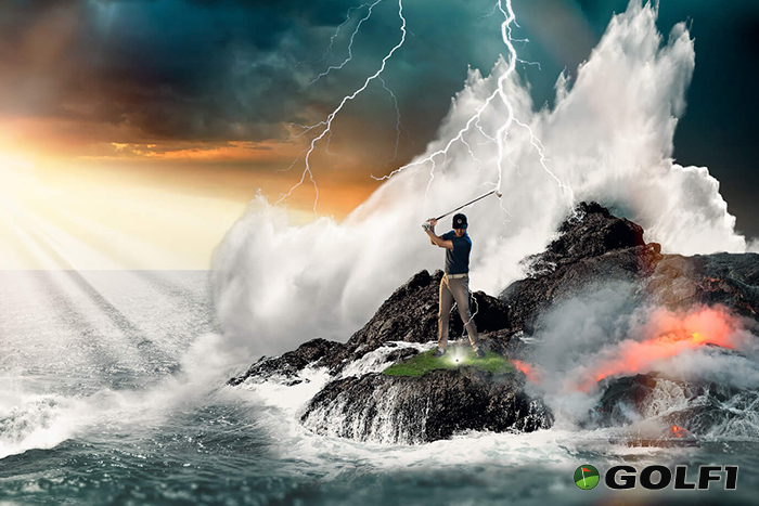 Göttliche Golfbälle von FOREACE für mehr Rock N Roll auf dem Platz © foreace