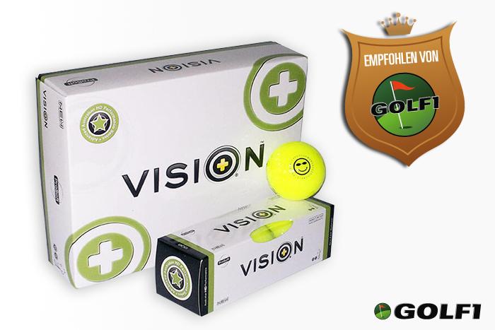 Empfohlen von GOLF1: VISION ProSoft 808 SuperYellow © vision golf