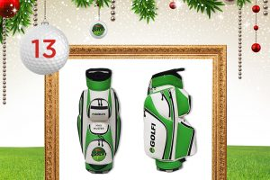 Adventskalender-Türchen 13: Personalisiertes Golf Tour Bag © clubtags Hamburg, maxborovkov, krasyuk