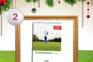 Adventskalender-Türchen 2: Golferkalender 2017 © golferkalender.de