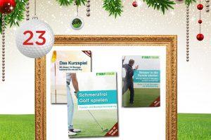 Adventskalender-Türchen 23: Golf E-Book nach Wahl © golfstun.de, maxborovkov, krasyuk