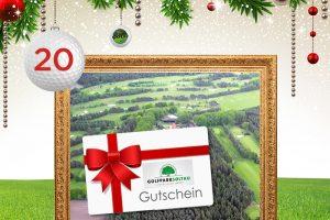 Adventskalender-Türchen 20: Greenfee Gutscheine für den Golfpark Soltau © start2golf, maxborovkov, krasyuk