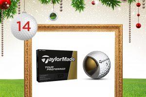 Adventskalender-Türchen 14: TaylorMade Tour Preferred Golfbälle © taylormade, maxborovkov, krasyuk