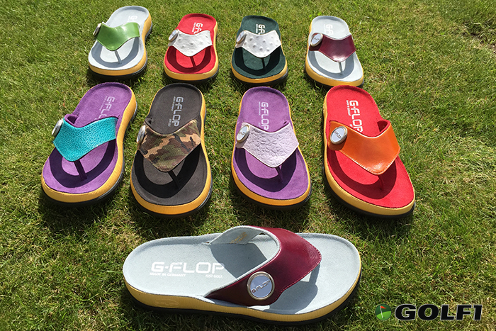 Den coolen Golfschuh gibt es in über 40 Modellvarianten © G-FLOP