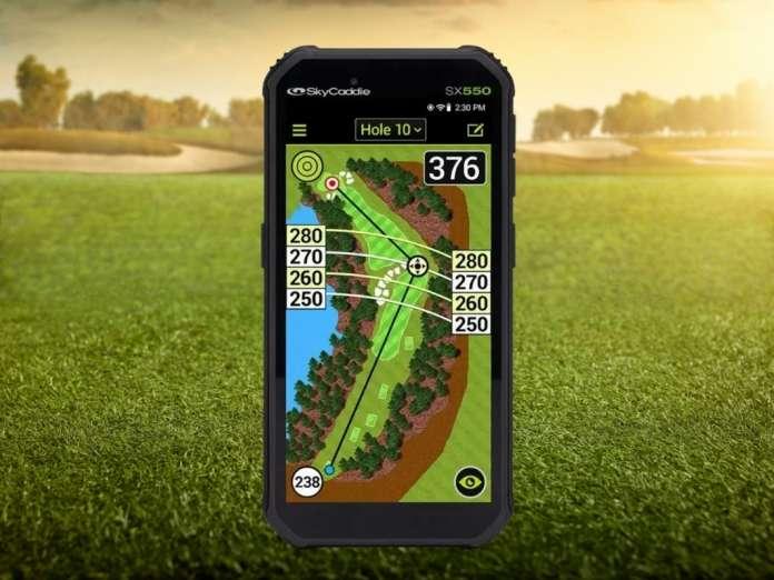 SkyCaddie SX550 GPS Handheld