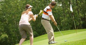 Golf Etikette Ausrutscher