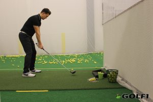 Indoor Golftraining
