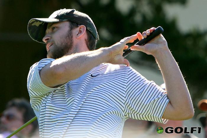 Justin Timberlake beim Golf