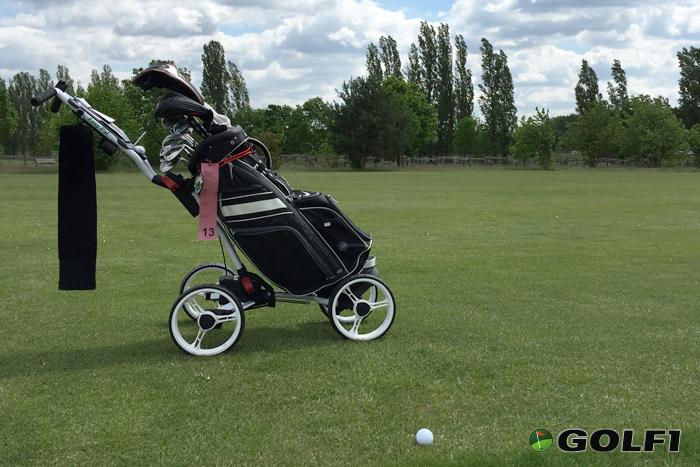 Golfer Pal im Einsatz