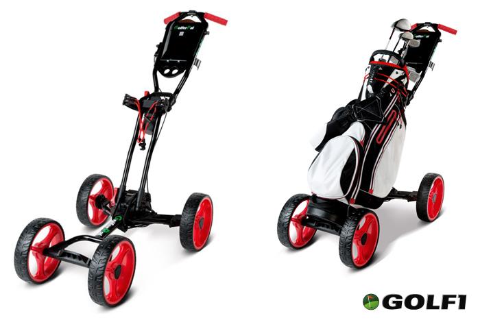 GolferPal mit und ohne Bag