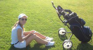 Entspannte Golfrunde