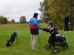 Nervige Golfpartner