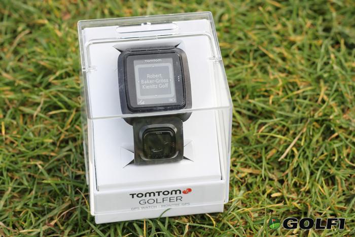 Golfer GPS Golfuhr von TomTom