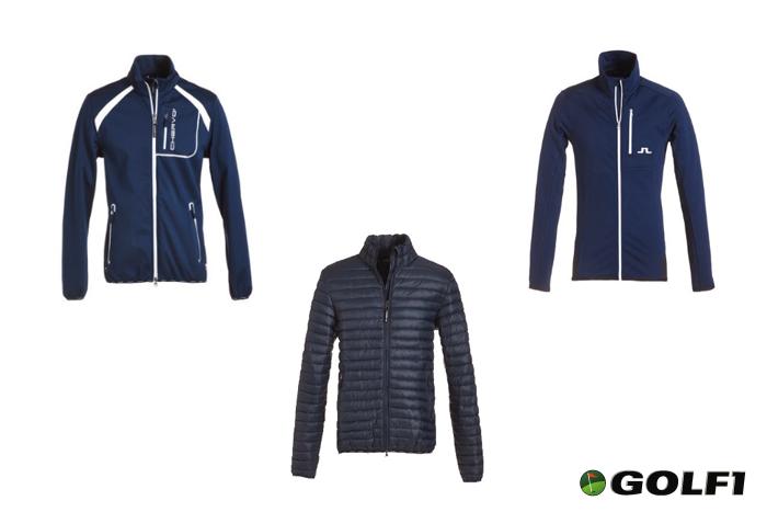Warme Golf-Jacken
