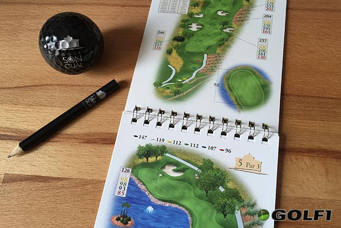 Das Birdiebook ist im Greenfee inbegriffen © jfx / GOLF1