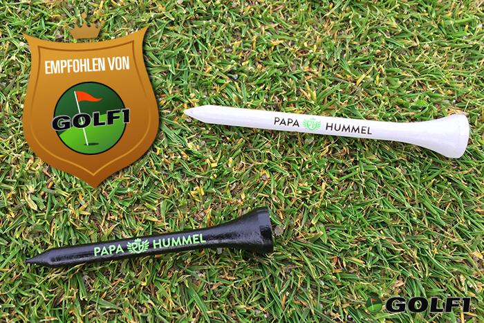 Top-Produkt: Tees aus Bambus von Papa Hummel werden empfohlen von GOLF1 © jfx / GOLF1