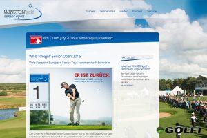 Offizielle Webseite des Events © winstongolf / stefan von stengel
