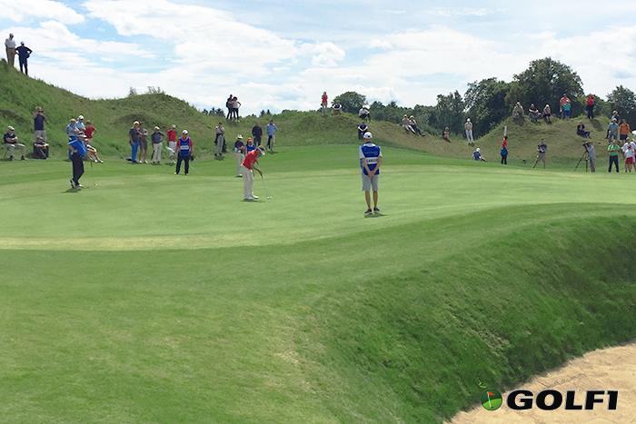 """Beim Putten mit dem """"Besenstiel"""" wäre mehr für Langer drin gewesen © jfx / golf1"""