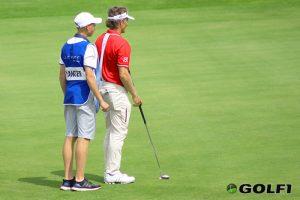 Bernhard Langer mit seinem Sohnemann Jason © jfx / golf1