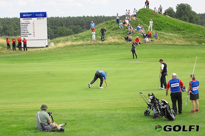 Play-Off auf der 18: Oldcorn gegen Broadhurst © jfx / golf1