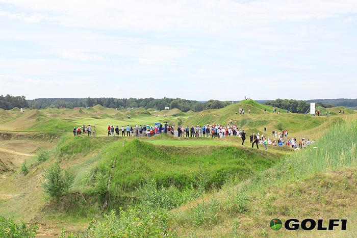 Großer Andrang beim Langer-Flight © jfx / golf1