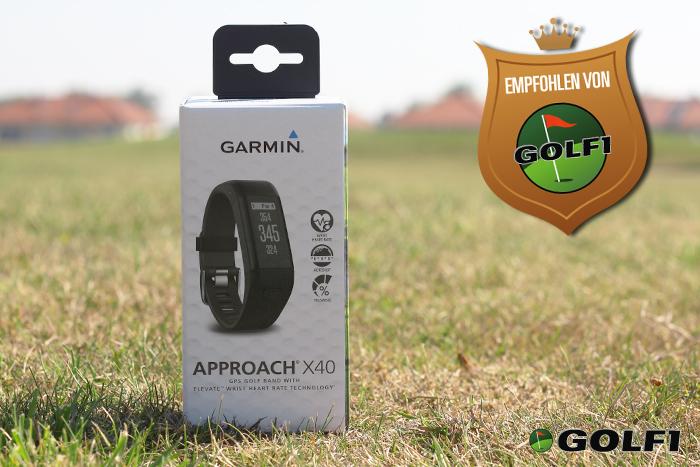 Das Approach X40 Armband wird empfohlen von GOLF1 © jfx