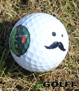 Buffalo Bill Golfball