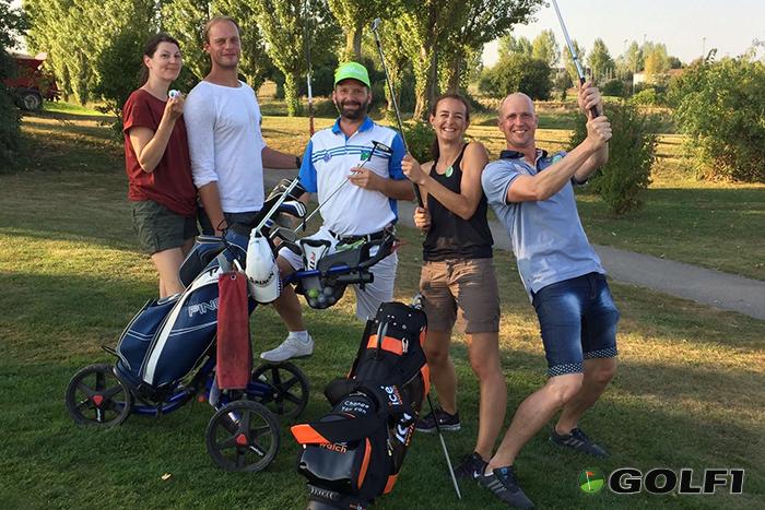 Die Teilnehmer hatten sichtlich Spaß © Golfclub Kitzingen