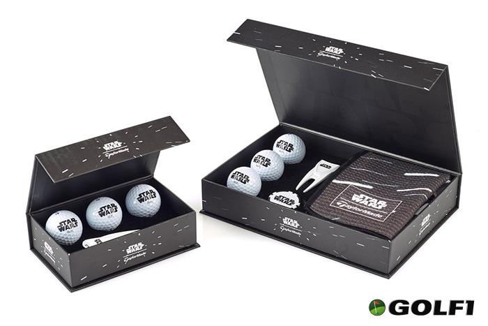 Geschenkboxen für golfspielende Star Wars Fans © lucasfilm ltd. / taylormade