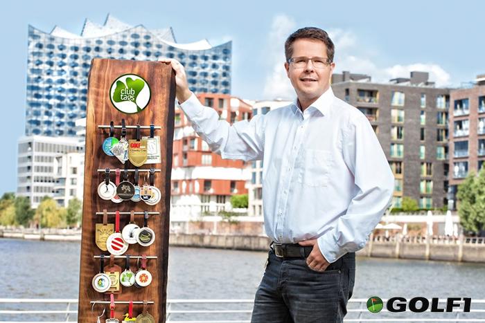 clubtags bietet individuelle Lösungen für Bag Tags, Pitchgabeln, Tee Marker uvm. © clubtags Hamburg