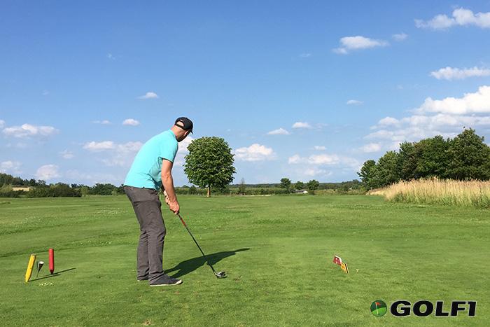 Erste Golferfahrungen