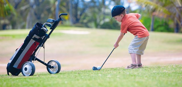 Golfanfänger