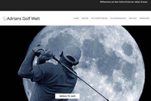 "Golf Blog ""adriansgolfwelt.de"""