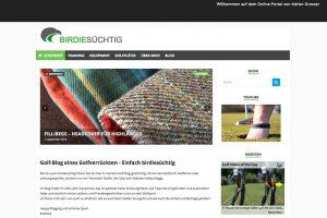"""Golf Blog """"birdiesuechtig.de"""""""