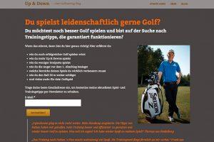 "Golf Blog ""fabianbuenker.de"""