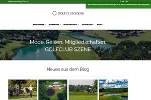 "Golf Blog ""golfclub-szene.de"""