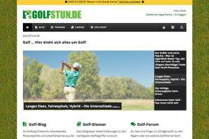 """Golf Blog """"Golfstun.de"""""""