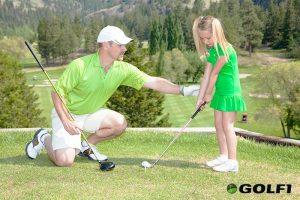 Golfunterricht für Kinder