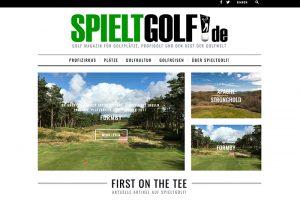 """Golf Blog """"spieltgolf.de"""""""