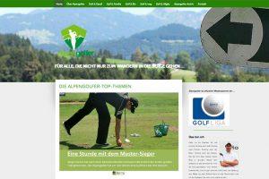 """Golf Blog """"alpengolfer.de"""""""