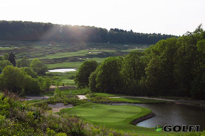 Aussicht Hofgut Georgenthal Golfplatz
