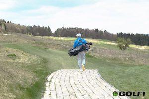 Golfspieler auf Golfplatz Hofgut Georgenthal